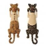 Набор для изготовления текстильной игрушки арт.КП-203 Кот День-Ночь 34,5 см