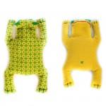 Набор для изготовления текстильной игрушки арт.П-114 Лягушенок Ква 18 см