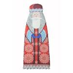 Набор для шитья и вышивания чехол на бутылку арт.МП-16х37- 8218 Январь