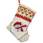 Набор для шитья и вышивания носочек арт.МП-19х30- 8204