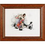 Набор для вышивания Алисена арт.1006 Непослушные коньки 15*13 см