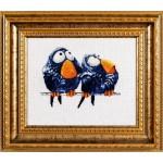 Набор для вышивания Алисена арт.1018 Про птичек 2 17*15 см