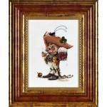 Набор для вышивания Алисена арт.1042 Гномик с кружкой 16*25 см