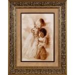 Набор для вышивания Алисена арт.1053 Молитва ангелов 30*45 см