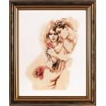 Набор для вышивания Алисена арт.1055 Нежность 25*34 см