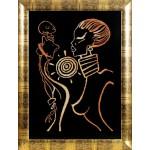 Набор для вышивания Алисена арт.1059 Африка 28*42 см