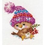 Набор для вышивания арт.Алиса - 0-101 Воробушек 11х12см