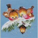 Набор для вышивания арт.Алиса - 0-102 На огонек 14х13см