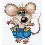 Набор для вышивания арт.Алиса - 0-104 Будет празник 12х13см