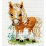 Набор для вышивания арт.Алиса - 0-114 Белогривая лошадка 12х14см