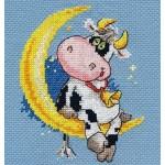 Набор для вышивания арт.Алиса - 0-117 Сладких снов 10х13см