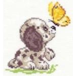 Набор для вышивания арт.Алиса - 009 М Привет! 10х12 см