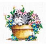 Набор для вышивания арт.ЧИ-15-15 Чудо-чудное 12х12 см