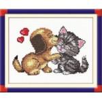 Набор для вышивания арт.ЧИ-16-08 (Д-100) СР Любовь 14х12см