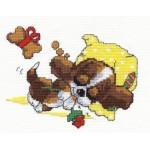 Набор для вышивания арт.ЧИ-16-10 (Д-127) Сладкие сны 15х13 см