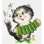 Набор для вышивания арт.ЧИ-18-34 СР Первый парень 11х12 см