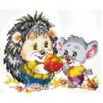 Набор для вышивания арт.ЧИ-18-53 СР Корпоратив 14х12 см