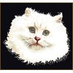 Набор для вышивания арт.Gouverneur-1045.05 Белый персидский кот