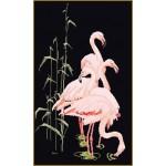 Набор для вышивания арт.Gouverneur-1070.05 Фламинго 32х55