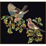 Набор для вышивания арт.Gouverneur-2022.05 Сойка