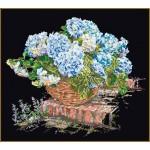 Набор для вышивания арт.Gouverneur-2046.05 Черная канва