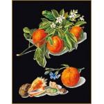 Набор для вышивания арт.Gouverneur-3061.05 Черная канва