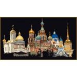 Набор для вышивания арт.Gouverneur-430.05 Черная канва 79х50 см