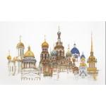 Набор для вышивания арт.Gouverneur-430 A Санкт-Петербург 79х50 см