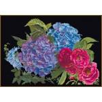 Набор для вышивания арт.Gouverneur-442.05 Черная канва 39х25 см