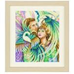Набор для вышивания арт.LANARTE-144528 Райские птицы 40х46 см