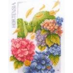Набор для вышивания арт.LANARTE-145977 Сила гортензии