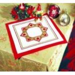 Набор для вышивания арт.Овен - 017 СР С рождеством 35x35 см