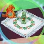 Набор для вышивания арт.Овен - 026 СР Рябина 35x35 см