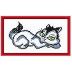 Набор для вышивания арт.Овен - 043 М Кошечка 20x15 см