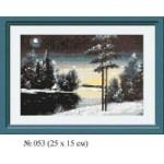 Набор для вышивания арт.Овен - 053 Б Зима 23x15 см