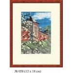 Набор для вышивания арт.Овен - 058 СР Кремль 13x18 см