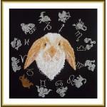 Набор для вышивания арт.ВЫШ -ВГ-02 Год кролика 27x27 см