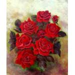 Набор для вышивания бисером Империя бисера арт.ИБ-119 Красные розы