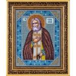 Набор для вышивания бисером Паутинка арт.Б1009 Св.Серафим Саровский 28х22 см
