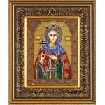 Набор для вышивания бисером Паутинка арт.Б1010 Св.Муч.Ирина 28х22 см