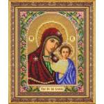 Набор для вышивания бисером Паутинка арт.Б1012 Богородица Казанская 28х22 см