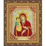 Набор для вышивания бисером Паутинка арт.Б1016 Богородица Троеручица 28х22 см