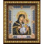Набор для вышивания бисером Паутинка арт.Б1017 Богородица Вифлеемская 28х22 см