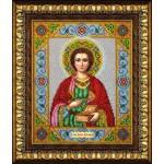 Набор для вышивания бисером Паутинка арт.Б1018 Св.Целитель Пантелеймон 28х22 см