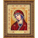 Набор для вышивания бисером Паутинка арт.Б1025 Богородица Огневидная 28х22 см