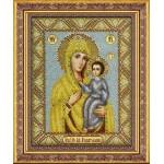 Набор для вышивания бисером Паутинка арт.Б1027 Богородица Избавительница 28х22 см