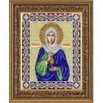 Набор для вышивания бисером Паутинка арт.Б1031 Св. Анастасия Узорешительница 28х22 см