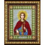 Набор для вышивания бисером Паутинка арт.Б1033 Св.Вмч.Екатерина 28х22 см
