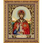 Набор для вышивания бисером Паутинка арт.Б1037 Св.Благов.князь Дмитрий Донской 28х22 см