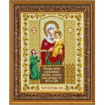 Набор для вышивания бисером Паутинка арт.Б1040 Пр.Богородица Нечаянная радость 28х22 см